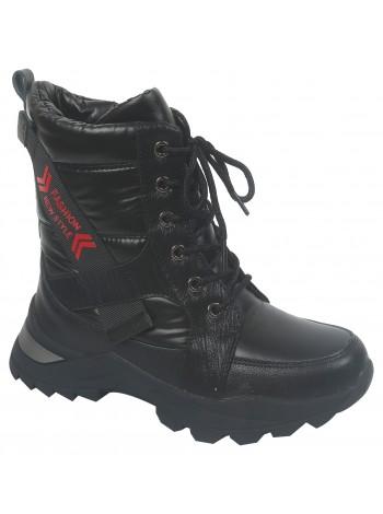 Ботинки зимние Tom&Miki B-7897-A черный (33-38)