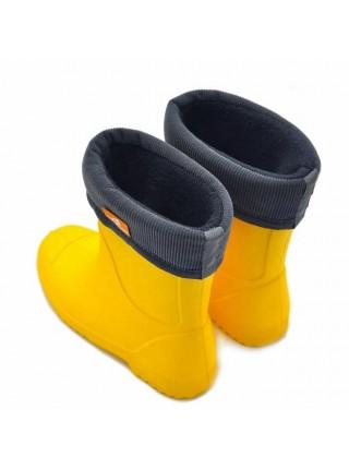 Сапоги резиновые Nordman Jet 3-106-E06 желтый (32-35)