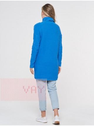 Туника женская 182-4748 голубая лазурь (44-46)