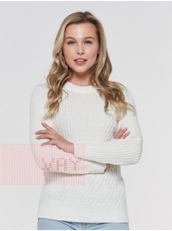 Джемпер женский 182-4790 молоко (42-52)
