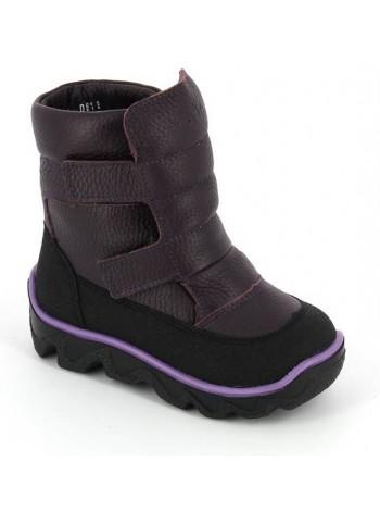 Ботинки зимние Тотта 453-ТП баклажан (23-26)