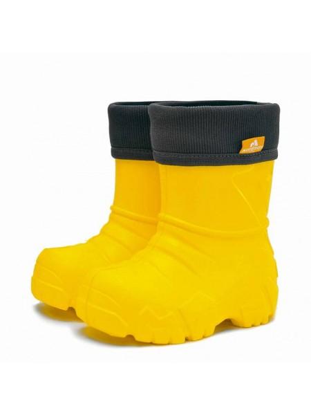 Сапоги резиновые Nordman Kids 3-111-Y06 желтый (32-35)