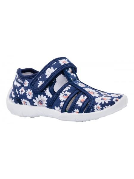Текстильная обувь Котофей 421015-13 синий (26-27)