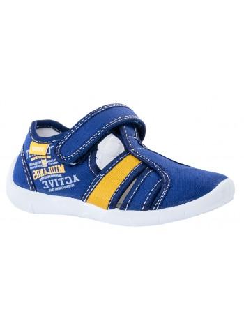 Текстильная обувь Котофей 421020-11 синий (26)