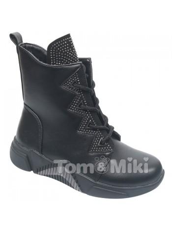 Ботинки Tom&Miki B-7809-A черный (32-37)