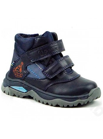Ботинки B&G 2930-3B синий (23-28)