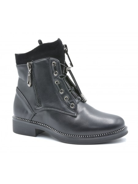 Ботинки Тотошка F6022-1 черный (32-37)