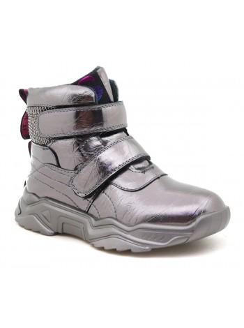Ботинки М+Д 2273-24 серебро (32-37)