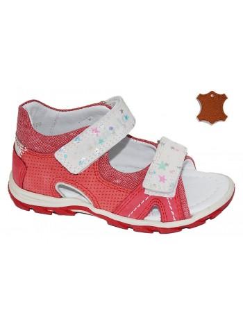 Туфли открытые DANDINO DND2144-23-9А красный (25-30)