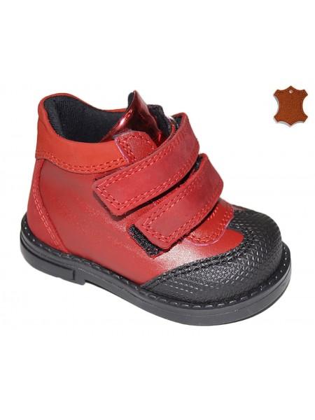 Ботинки DANDINO DND3055-42-9B красный (18-25)