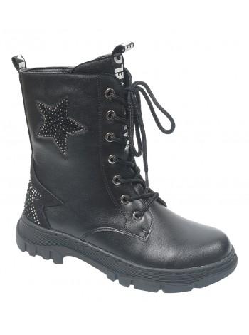 Ботинки Tom&Miki B-7814-B черный (33-38)