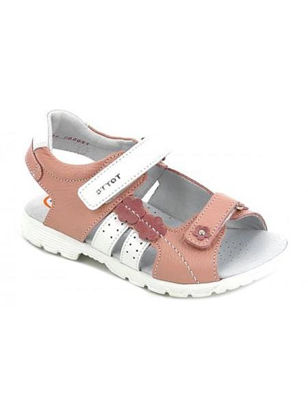Туфли открытые ТОТТА 1183 розовый (27-31)