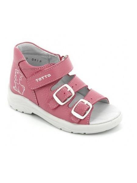 Туфли открытые ТОТТА 1142-КП пион (27-31)