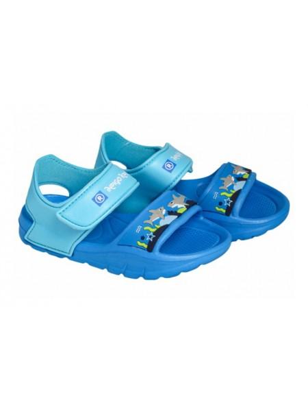 Пляжная обувь INDIGO 24-062B/12 голубой (24-29)
