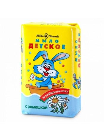 Мыло туалетное Детское с ромашкой Невская косметика 90г