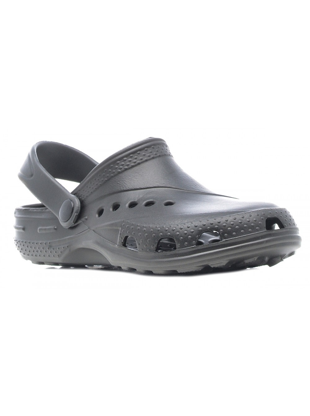 Кроксы Дюна 601/06 черный/серый (35-42)