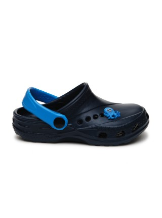 Кроксы Дюна 601/01M синий-голубой (27-34)