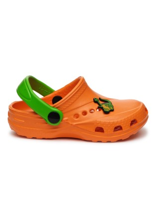 Кроксы Дюна 601/01M оранжевый/зеленый (27-34)
