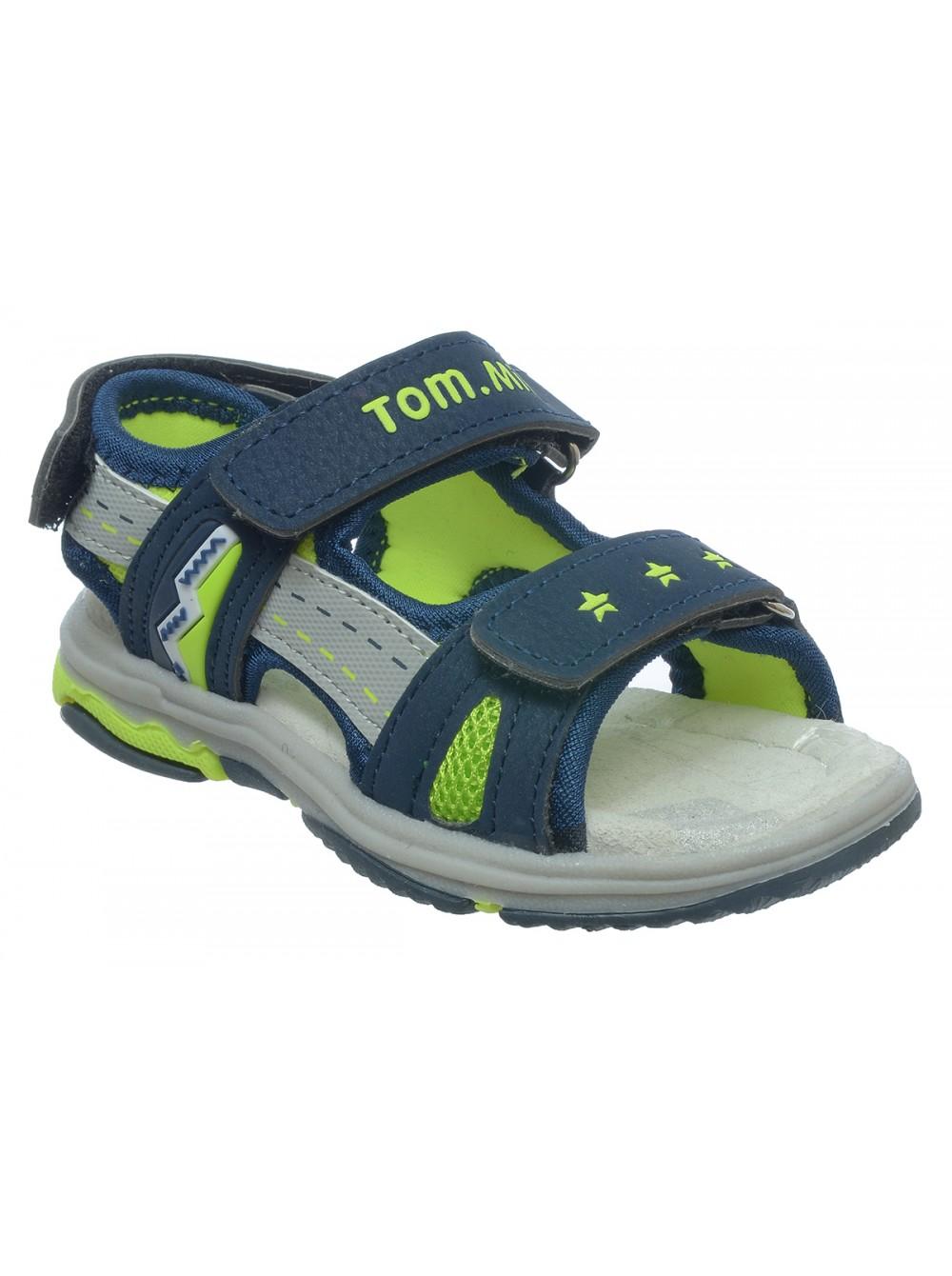 Сандалии Tom&Miki B-5573 синий/зеленый (21-26)