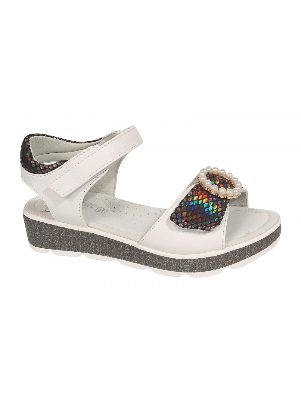 Туфли открытые Tom&Miki B-7248-C белый (33-38)