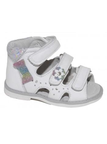 Туфли открытые Капитошка A10986 белый (21-26)