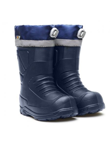 Сапоги резиновые Дюна 462 НY синий (24-27)