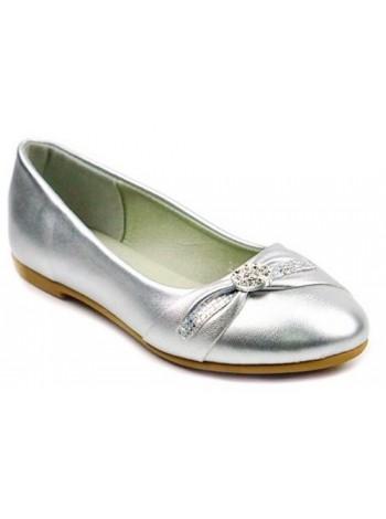 Туфли B&G 2809-4Q серебро (31-37)