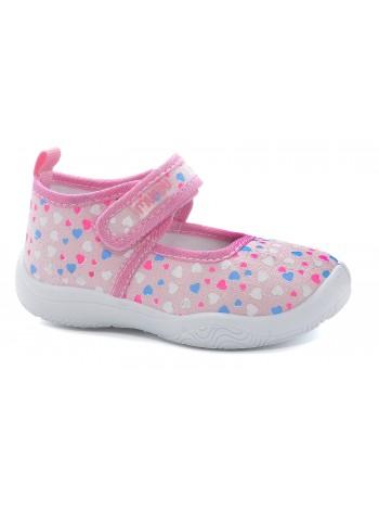 Текстильная обувь MURSU 215332 розовый (21-26)