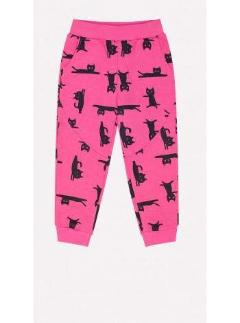 Брюки Crockid КР 4730 я.розовый мультгерой (80-98)