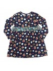 Платье Candy's 033GC0801 совы на т.синем (92-128)