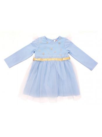 Платье Candy's 034GC0815m св.голубой (98-128)
