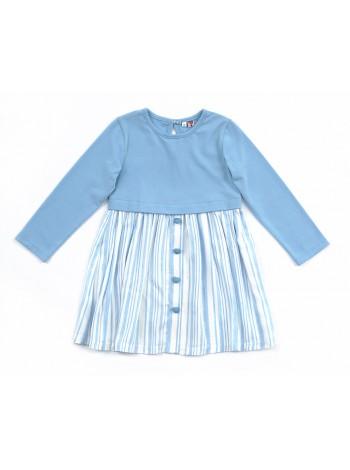 Платье Candy's 036GC0812 голубой (98-128)