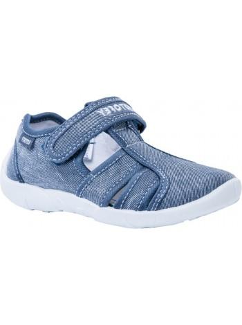 Текстильная обувь Котофей 521003-11 синий (30-33)