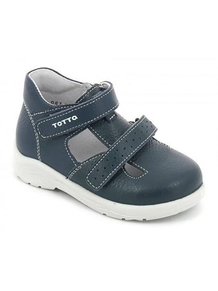 Туфли открытые ТОТТА 0228/1 синий (27-29)