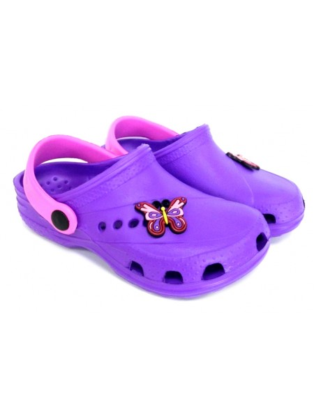 Кроксы Дюна 601/01M фиолетовый/розовый (27-34)