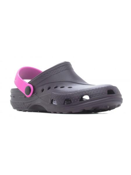 Кроксы Дюна 601/06 фиолетовый/розовый (35-42)