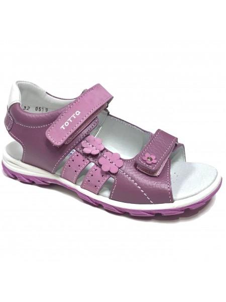 Туфли открытые ТОТТА 1183 фиолетовый (27-31)
