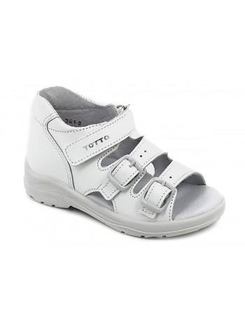 Туфли открытые ТОТТА 1142-КП белый (27-31)
