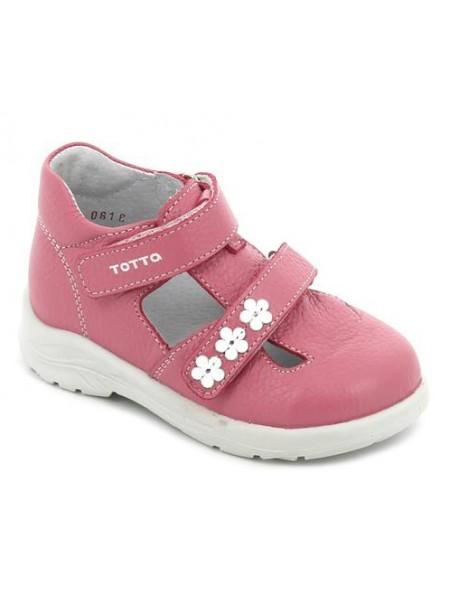 Туфли открытые ТОТТА 0228/1 розовый (27-29)