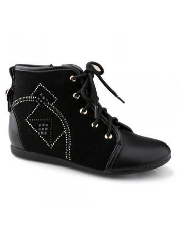 Ботинки ТОМ.М A-B67-36-D черный (33-38)
