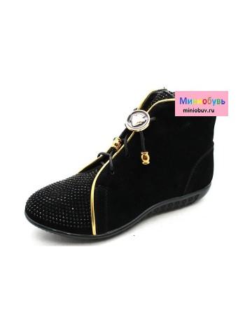 Ботинки Канарейка G276-1 черный (32-37)