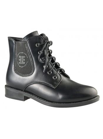 Ботинки BiKi A-B05-06-C черный (33-38)