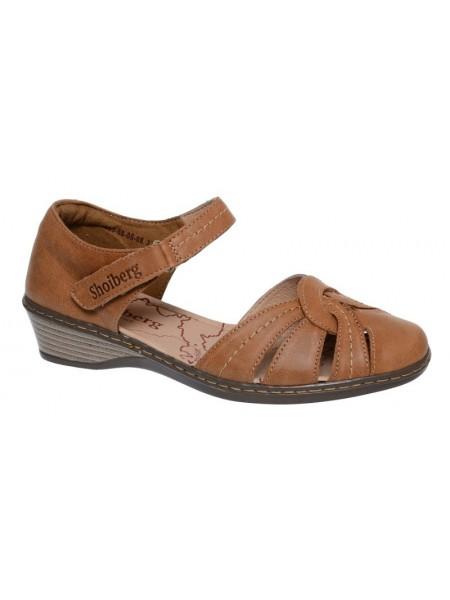 Туфли открытые SHOIBERG 403-68-05-08 коричневый (36-41)