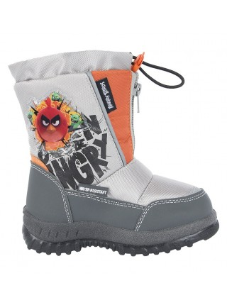 Дутики Angry Birds 6479A серый (25-31)