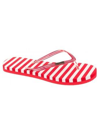 Пляжная обувь CROSBY 497210/01-02 красный/белый (36-41)