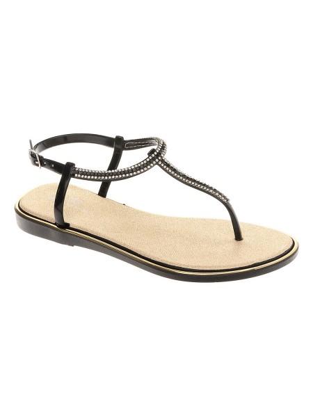 Туфли открытые KEDDO 897825/01-01E желтый/черный (36-40)