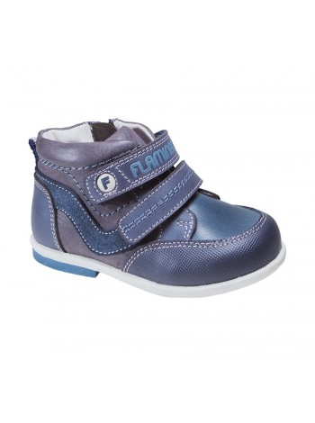 Ботинки Flamingo 81B-XY-0638 синий (20-25)