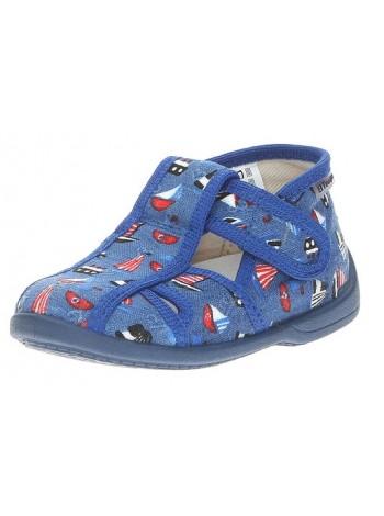 Текстильная обувь El Tempo 1117-3 синий (20-26)