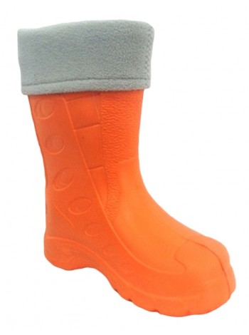 Резиновые сапоги Дюна 430 УФ оранжевый/серый (29-34)