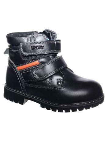 Ботинки Колобок 7242-01 черный (27-32)